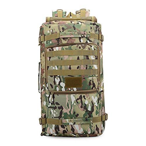 e-jiaen Rucksack 75L Hohe Kapazität Umhängetaschen/Handtasche für Speicher oder Veranstalter von Comping Wandern Reisen Mountaining Angeln Sport Zubehör C3