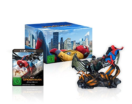 Spider-Man Homecoming - Figurine Spiderman vs. Vulture (Amazon exklusiv) - Ultra HD Blu-ray [4k + Blu-ray Disc]