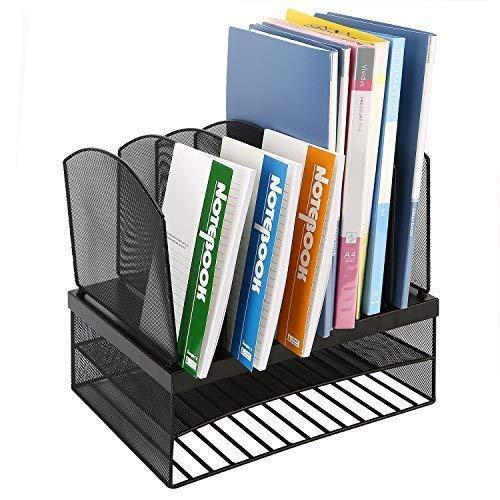 CRUODA Organizador escritorio 6 secciones verticales