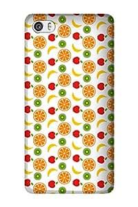 Zapcase Printed Back Cover for Xiaomi Mi5
