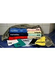 Premium Frottee Duschtuch / Badetuch 70 x 140 cm, 450 Gramm Qualität, 100 % Baumwolle, verschiedene Farben zur Auswahl