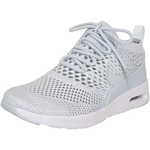 Nike Air Max Thea Ultra Flyknit Donna Sneaker Trainer 881175-002 Platino