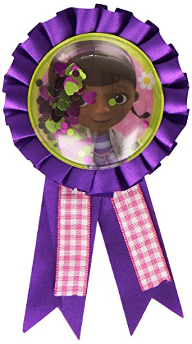 Amscan Disney Doc McStuffins Award Ribbons