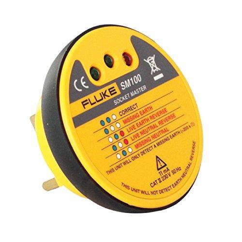 Price comparison product image Fluke SM100 Socket Master Socket Tester