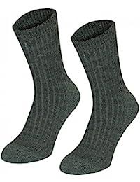 6 Paar Army-Socken, Tarngrün
