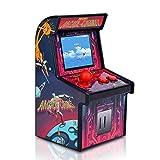 Docooler Mini Arcade Games Retro Tiny Video Game Arcade Cabinet para Niños Portátil Electronic Handheld Gaming Console con 200 Juegos Clásicos Rose Red