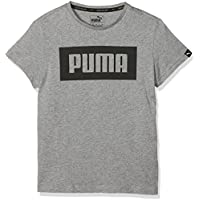 Puma Rebel tee Camiseta, Niños, Gris Medio, 176