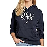 #10: Melcom Women's Cotton Hoodie Sweatshirt Without Zip-Holister