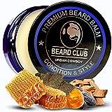 Balsamo per Barba Premium | Urban Cowboy | Il Miglior Balsamo e Emolliente per Barba | 100% Naturale & Organico | Ottimo per la Cura dei Capelli e la Crescita
