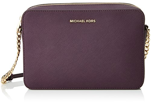 Michael Kors Crossbodies 32S4GTVC3L, Women's Cross-Body Bag, Morado (Damson), 1.9x10.199999999999999x22.9 cm (W...