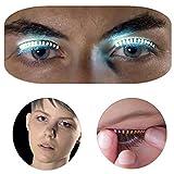 lzn 1 Paar LED Falsche Wimpern Eyelasches Für Icon Saloon Party Spieler Sänger Nightclub Atmosphere Prop