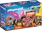 Playmobil - THE MOVIE Marla, Del y Caballo con Alas 70074
