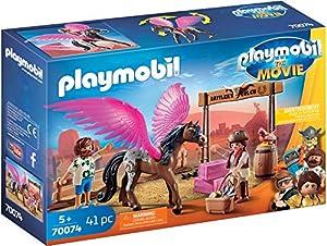 PLAYMOBIL: THE MOVIE Marla, Del y Caballo con Alas, a Partir de 5 Años (70074)
