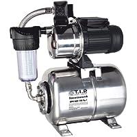 T.I.P. 31155  Hauswasserwerk HWW Inox 1300 Plus F Edelstahl mit Vorfilter