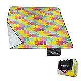 Spokey Picnic Blanket Picnic Puzzle 837146, multicolour