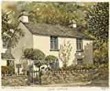 Portraits of Britain Limited Edition Framed Artist's Print - Grasmere - Dove Cottage, Cumbria