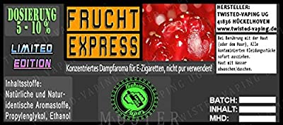 Twisted Road Trip Aroma Frucht-Express von Twisted Vaping