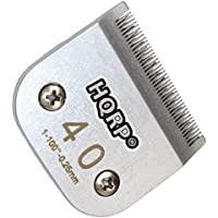 HQRP Cuchilla de cortapelos de animales [tamaño 40] para Oster A5/A-5 Turbo 2 velocità 078005-314-002/Golden A5/Turbo A5 Posavasos