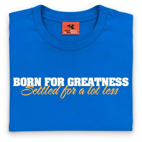 Born For Greatness T-Shirt, Herren Royalblau