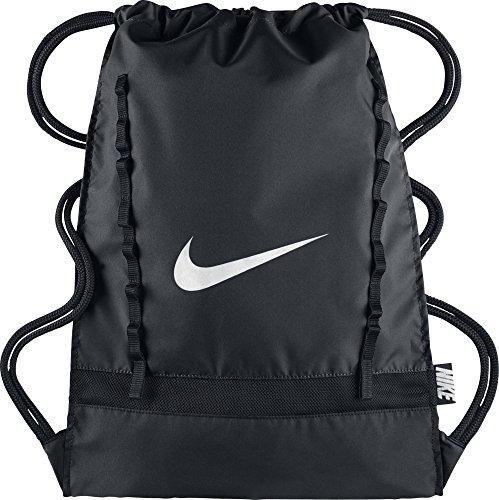 Nike Brasilia 7 Gymsack Sporttaschen, 16 liter Schwarz
