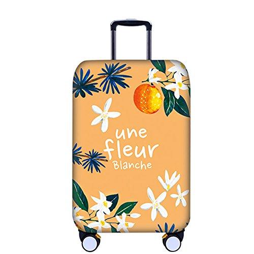 Meijunter Personalisiert Muster Verdicken Elasthan Gepäck Koffer Haut Beschützer Baggage Abdeckung für Jungs Mädchen (Personalisierte Koffer)