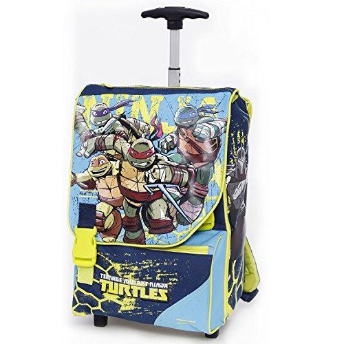 Giochi preziosi tartarughe ninja zaino trolley scuola for Prezzo tartarughe