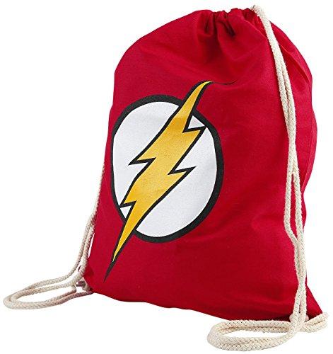 Action-figur-tragetasche (The Flash Logo Turnbeutel rot)