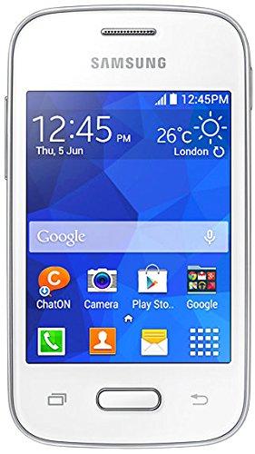 Samsung SM-G110HZWADBT Galaxy Pocket 2 Smartphone (8,28 cm (3,26 Zoll) Touchscreen, Single Core Prozessor, 1GHz, 2 Megapixel Kamera, 4GB interne Speicher, SD-Kartenslot) weiß (Handy Pocket Samsung)