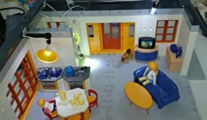 4062 wohnhaus mit beleuchtung puppenhaus. Black Bedroom Furniture Sets. Home Design Ideas