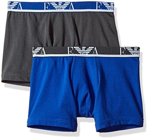 Emporio Armani Herren Boxershorts 1112687p715, 2er Pack Multicolour
