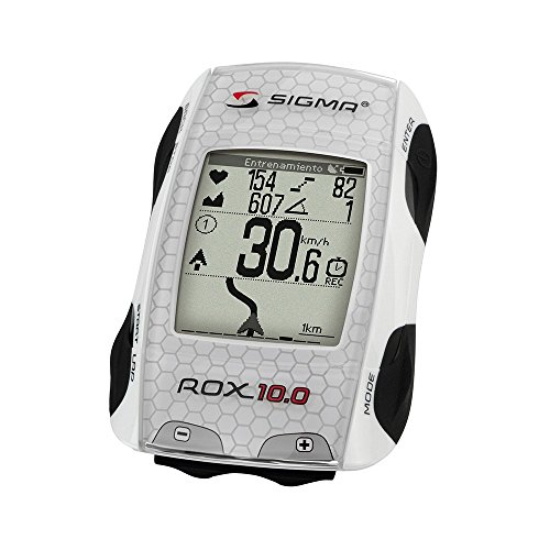 Sigma Sport ROX 10.0 GPS Wireless Cycle Computer - White