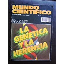 REVISTA MUNDO CIENTÍFICO VERSIÓN EN CASTELLANO DE LA RECHERCHE. ESPECIAL. VOLUMEN 4.JULIO/AGOSTO 1984. NUMERO 38