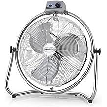 Orbegozo PWO 1945 - Ventilador industrial power fan, oscilante, potencia 130 W, 3 velocidades, diámetro hélice 45 cm