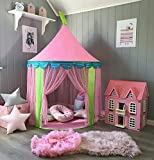 Princess Castle Play Tent for Girls Indoor & Outdoor Use