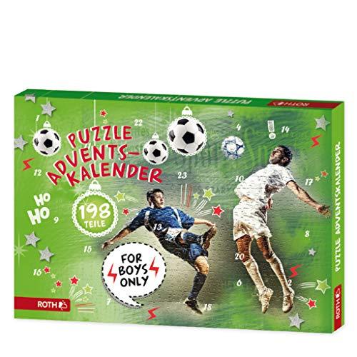 Fußball Puzzle-Adventskalender