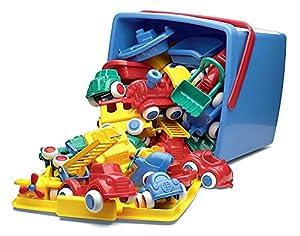 Viking Toys  41580 - cuchara de 30 partes, 20 litros contiene 13 Maxis, Chubbies 13 remolcadores y 4