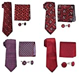 #10: Sorella'z Men's Tie Gift Set for Men's (COMBO OF TWO GIFT SET) - We will ship any two gift set from stock