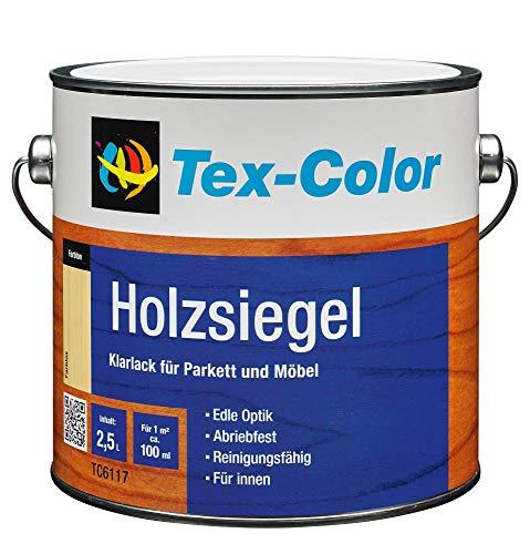 Tex color legno sigillo incolore trasparente di parquet mobili 2,5litri