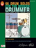 66 Drum Solos for the Modern Drummer: Rock, Funk, Blues, Fusion, Jazz [With DVD] (Book & DVD)