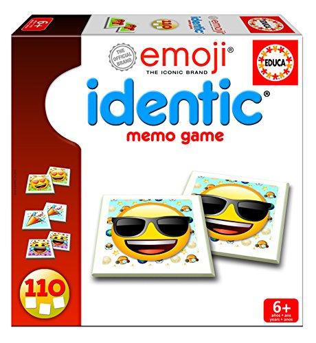 Emoji- Juego Identic 110 fichas Educa Borrás 17293