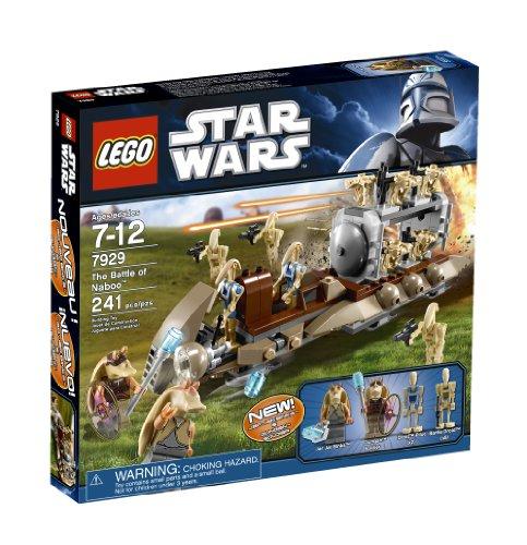 2 Doll Carrier (LEGO Star Wars–Minifigur Jar Jar Binks (des Spiels 7929) mit Zubehör)
