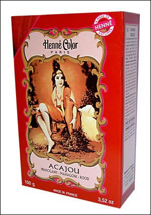 Mahogany Henne Natural Henna Hair Colouring Dye Powder