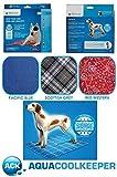 Kühlmatte für Hunde - Gr 07 - M Pacific Blue 60 cm x 50 cm