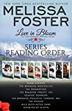 Love in Bloom Series Reading Order and Checklist: Snow Sisters, The Bradens, The Remingtons, Seaside Summers, The Ryders, Wild Boys, Bad Boys, Harborside Nights