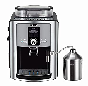 Krups EA8050PE Bean to Cup Coffee Machine, 1450 W, Silver