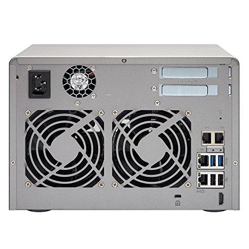 QNAP TVS-671 NAS Desktop 6Bay Intel Core i3-4150 3.5 GHz DualCore 4GB DDR3 RAM(max 10GB) 4xGb LAN 10Gb Ready