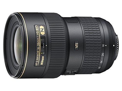 Nikon Obiettivo Nikkor AF-S 16-35 mm f/4G ED VR II, Nero [Nital Card: 4 Anni di...