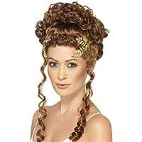 Smiffy's. Tocado para mujer, diseño griego con hojas de laurel