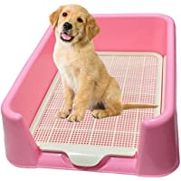 TAIYO PLUSS DISCOVERY® Dog Toilet, Size:(40X50 cm) (LXH), Dog Toilet Fence Grid Removable Waste Pee Tray Portable Dog…