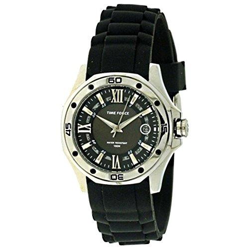 TIME FORCE TF-4107L01 - Orologio da polso, cinturino in caucciù colore nero